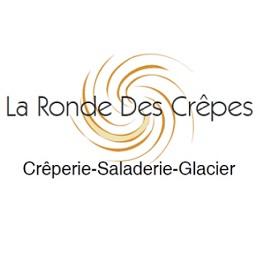 La Ronde des Crêpes Restaurant Esvres Creperie Galettes Saladerie Glacier Logo